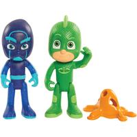 PJ Masks Light Up Figures Gekko and Night Ninja