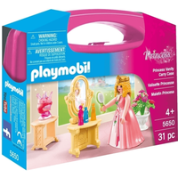 Playmobil 5650 Small Princess Vanity Carry Case - Princess Gifts