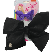JoJo bow 2 pack with standard size velvet bow Black