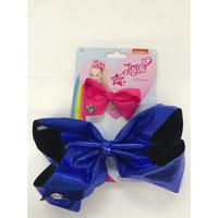 JoJo Siwa Glitter Bow 2 Pack - Royal blue