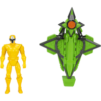 Power Rangers Mega Morph Cycle With Yellow Ranger - Morph Gifts