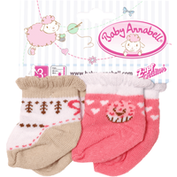 Baby Annabell Socks (Styles Vary) - Baby Annabell Gifts