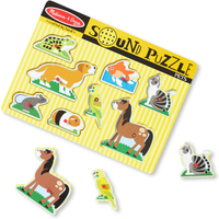 Melissa and Doug Pets Sound Puzzle - Pets Gifts