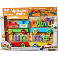 Fun Time Alphabet Train with Carriages and Letters - Fun Gifts
