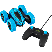 Extreme 360 RC Stunt Double - Side Roll Car - Blue - Extreme Gifts