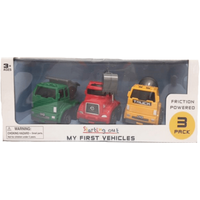 My First Working Vehicles - 3 Pack - Working Gifts