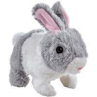 Pitter Patter Pets Teeny Weeny Bunny - Grey Bunny - Pets Gifts