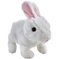 Pitter Patter Pets Teeny Weeny Bunny - White Bunny - Pets Gifts