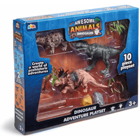 Awesome Animals Tyrannosaurus Rex Dinosaur Adventure Playset - Adventure Gifts