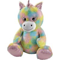 Snuggle Buddies 80cm Plush Unicorn - Sugar Sparkle - Sugar Gifts