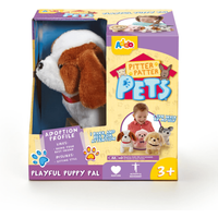 Pitter Patter Pets Playful Puppy Pal - Brown and White - Pets Gifts