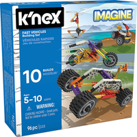 K'NEX First Vehicles Beginners Building Set - Knex Gifts