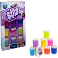 Jakks Glitter Slime Bundle - 9 Pots Pack - Thetoyshopcom Gifts