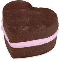 Softn Slo Squishies Series 1 Original Sweet Shop - Brown Heart - Shop Gifts