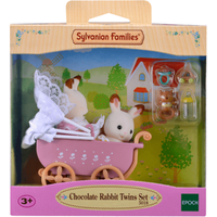 Sylvanian Families Chocolate Rabbit Twins - Sylvanian Families Gifts