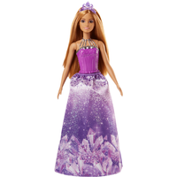 Barbie Dreamtopia Princess Doll - Purple Crystal - Barbie Gifts