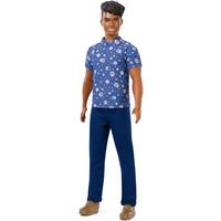Barbie Fashionistas Ken Doll - Floral Shirt - Barbie Gifts