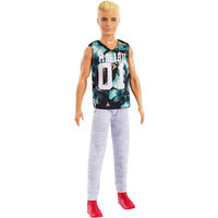 Barbie Fashionistas Ken Doll - Tropical Malibu Top - Malibu Gifts