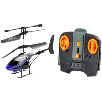 Armor Hawk Stable Flight Remote Control Helicopter - Blue