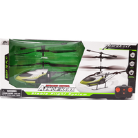 Armor Hawk Stable Flight Remote Control Helicopter - Green - Remote Control Gifts