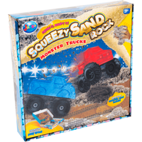 Squeezy Sand Rock Monster Truck - Monster Truck Gifts