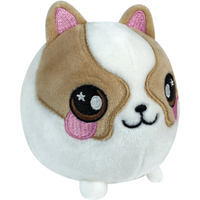 Squeezamals Plush -Dax - The Entertainer Gifts