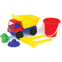 Summer Beach Truck Sand - Red - Sand Gifts