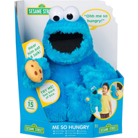 Sesame Street Hand Poppet Talking Doll - Cookie Monster - Soft Toys Gifts