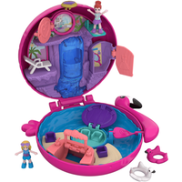 Polly Pocket World Flamingo Floatie Playset - Polly Pocket Gifts