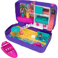 Polly Pocket Hidden Places Beach Vibes Backpack Playset - Polly Pocket Gifts