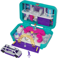 Polly Pocket Hidden Places Dance Party Case Playset - Polly Pocket Gifts