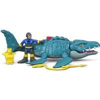 Imaginext Jurassic World Figure - Mosasaurus & Diver - Diver Gifts