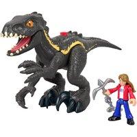 Imaginext Jurassic World Feature Figures - Indoraptor & Maisie Figures