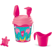 Flamingo Bucket Set 17cm With Accessories - Accessories Gifts