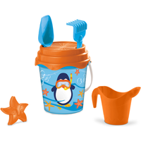 Penguin Bucket Set 17cm With Accessories - Accessories Gifts