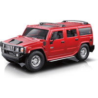 Braha 1:24 Scale Hummer Friction Car - Red - Hummer Gifts