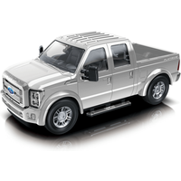 1:24 Scale Ford F350 Friction Car - Silver - Ford Gifts
