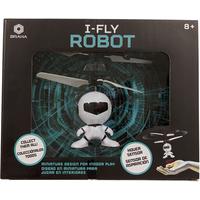 Braha i-Fly Infrared Control Robot - Black