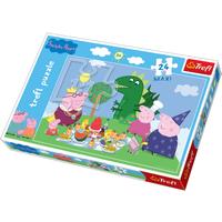 Trefl Peppa Pig Maxi Puzzle - 24 pcs - Peppa Pig Gifts