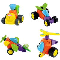 Tomy Toomies Constructables Vehicles - Tomy Gifts