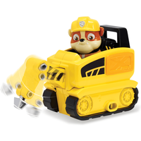 Paw Patrol Ultimate Rescue Mini Vehicle with Collectible Figure - Rubble - Mini Gifts