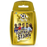 World Football Stars Top Trumps Card Game (Gold Case)
