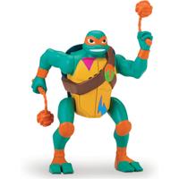 Rise of The Teenage Mutant Ninja Turtles Deluxe Ninja Attack Action Figure - Michelangelo Popup Attack - Teenage Mutant Ninja Turtles Gifts