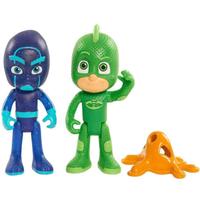 PJ Masks Duel 7.5cm Figure Set - Gekko and Night Ninja - Ninja Gifts
