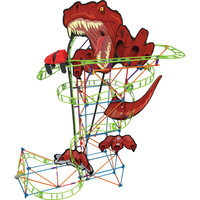K'NEX T-Rex Fury Roller Coaster Building Set - Knex Gifts