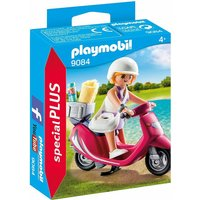 Playmobil 9084 Special Plus Figure - Beachgoer and Scooter