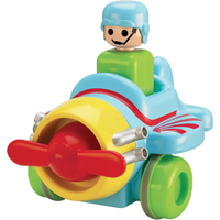 Tomy Toomies Push And Go Vehicle - Plane - Tomy Gifts