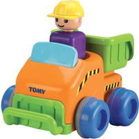 Tomy Toomies Push And Go Vehicle - Dump Track - Tomy Gifts