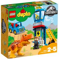 LEGO Duplo Jurassic World T. rex Tower - 10880 - Duplo Gifts