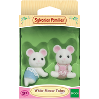 Sylvanian Families - White Mouse Twins - Sylvanian Families Gifts